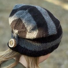 Button Back Hat