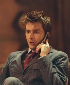 David Tennant/Ten    That suit/hair combo is too much for me to handle