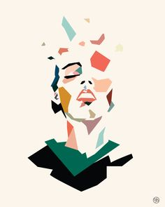J.Baptiste Stephan art minimal color illustration