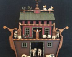 Wood Noah's Ark Hand Crafted by ArksAndAngelsMDallas on Etsy