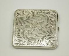 antique compact mirror - Google Search