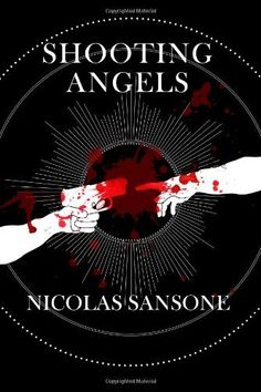 "Shooting Angels by Nicolas Sansone, http://www.amazon.com/dp/0984098488/ref=cm_sw_r_pi_dp_-VoUpb0ZNKGJW  ""Shooting Angels"" races from the jungles of Texas, to the dark corners of undiscovered space, to the innermost reaches of the human mind, to the smoggy streets of Central Heaven, where people are free to give in to their most detestable urges."