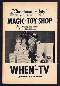 1962-WHEN-TV-AD-MAGIC-TOY-SHOP-EDDIE-FLUM-NUM-amp-MERRILY-SYRACUSE-NY-KIDS-SHOW