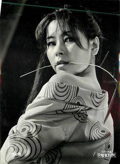 Ookusu Michiyo (大楠道代) 1946-, Japanese Actress, 安田道代