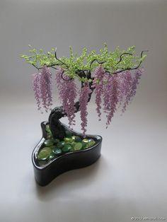 из бисера, фото - Цветы и деревья из ...