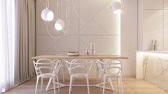 Jadalnia w mieszkaniu - zdjęcie od BEFORECONCEPT - Jadalnia - Styl Nowoczesny - BEFORECONCEPT Dining Room, Dining Table, Contemporary Style, Modern, Decor Styles, Minimalism, Living Spaces, Sweet Home, Chair
