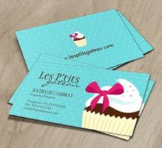 Whimsical Bakery Business Cards Exceptional Business Cards