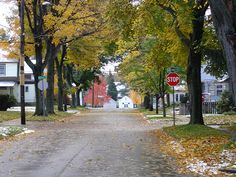 Streets of Jamestown, NY