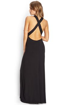 Crossback Maxi Dress | FOREVER21 - 2000089295 #styling #forever21 #donnalisa