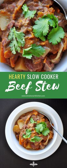 Looking for somethin Looking for something healthy and savory? Come home to this comforting slow cooker beef stew recipe which can be cooked to perfection while youre at work. Slow Cooker Beef, Slow Cooker Recipes, Crockpot Recipes, Vegetarian Recipes, Healthy Recipes, Healthy Food, Burger Recipes, Steak Recipes, Delicious Recipes