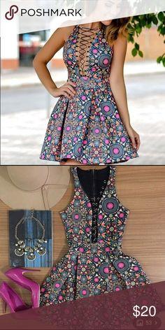 Dress Cute and flirty dress. Never worn still with tags. Dresses Mini