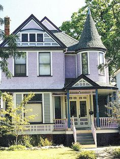 Purple Victorian, Woodbridge--Detroit MI by pinehurst19475, via Flickr