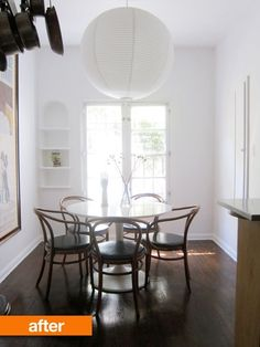 """Before & After: Abigail's """"Can of Paint"""" Quick Kitchen Updates — Renters Solutions   Apartment Therapy"""