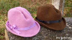 Snappy Fedora (3 Sizes) | Free Crochet Pattern