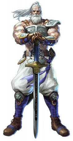 Edge Master from Soul Calibur 5