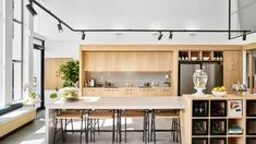The Best Designed Co-Working Spaces In Australia We Work Office, Work Office Design, White Office, Office Ideas, Space Interiors, Office Interiors, Space Australia, Warehouse Living, Workspace Design