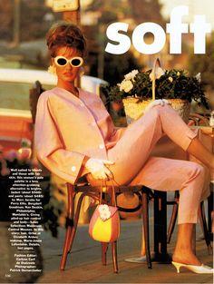 Karen Mulder | Photography by Patrick Demarchelier | For Vogue Magazine US | February 1991