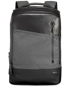 Sleek enough for the commute yet casual enough for a weekend adventure, this Lyons backpack from Tumi is ready to go wherever you're headed.   Polyester; nylon/leather lining   Spot clean   Imported  