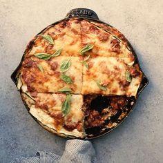 Zucchini Skillet Lasagna  • Amanda Frederickson