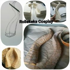 Rollekeks Cosplay Horns EVA Foam