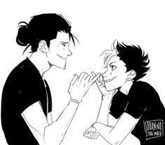Asahi and Noya this is so cute  so sad the season's over but so stoked for season three!!!