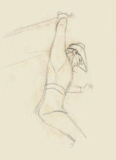 Milt Kahl - sketch