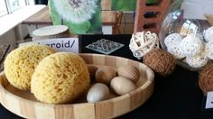 Egg shapes and spheroid at Chadwell Pre-school
