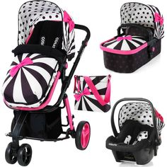 Cosatto Giggle 2 3-in-1 Travel System (Go Lightly 2)