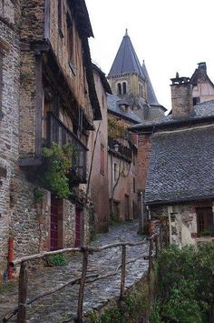 Medieval, Conques, France photo via karla
