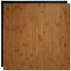 easy to install (with ZERO glue) over existing floors bamboo interlocking tiles. Not exactly the color I'd want, but these are waterproof, and easy to remove. $4.97/sq. ft.