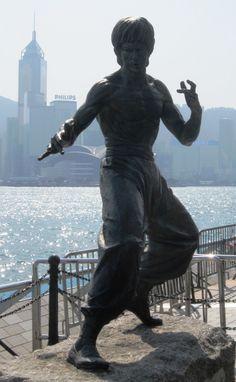 Bruce Lee Statue - Hong Kong - Kowloon