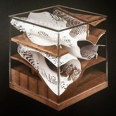 Something more experimental . Conceptual Model Architecture, Parametric Architecture, Parametric Design, Concept Architecture, Cubic Architecture, Exhibition Models, Landscape Model, Architectural Sculpture, Arch Model