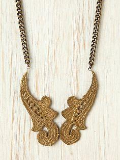 free people twin bib necklace