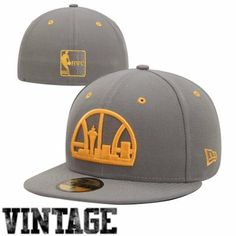 New Era Seattle SuperSonics Storm Gray 59FIFTY Fitted Hat - Gray 27a539532