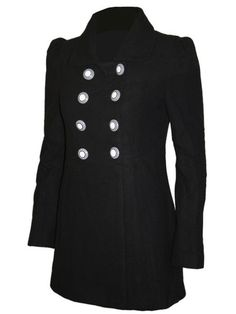 Jawbreaker coat from mouseyessim, classic with a twist.