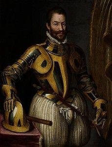 Alejandro de Farnesio.Alexandro Farnesse.Militar español que mandó los tercios de Flandes.
