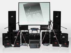Alquiler de equipos de video y sonido para todo tipo de eventos, convenciones, charlas y conferencias.
