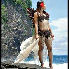 Traditional Samoan thigh tatau for women is called a Malu.