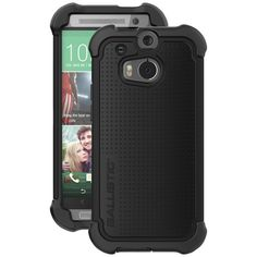 Ballistic Htc M8 Tough Jacket Maxx Case With Holster (black) - MNM Gifts
