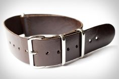 If you're feeling like your old wristwatch could use an update — or you just want to be able to change things up depending on the look you're trying to achieve — then the Hodinkee Kangaroo NATO Watch Strap is...