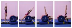 Front handspring drills all the way up | | Swing Big!