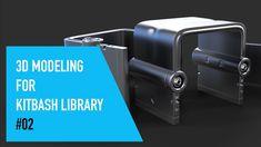 Cinema 4D 3D Modeling For Kitbash Library #02