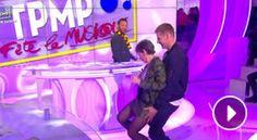 Isabelle Morini-Bosc dévoile accidentellement sa culotte en twerkant avec Matthieu Delormeau dans TPMP (VIDEO)
