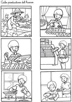 Secuencias Temporales para recortar y colorear!! - Glòria P - Álbumes web de Picasa