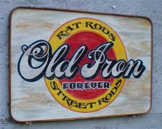 The Rambler Journal: Vintage Style Signs, Custom Made!