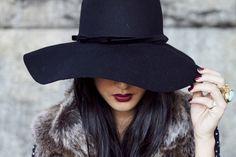 Como Usar   Chapéu de feltro - Hey Branca