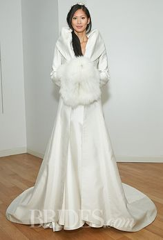 Amanda Wakeley - Fall 2014 - Alberta Silk A-Line Panneled Coat with Rolled Collar 💟$331.99 from http://www.www.retroic.com   #amanda #silk #bridalgown #panneled #mywedding #coat #bridal #wakeley #weddingdress #wedding #rolled #fall #aline #collar #alberta #with