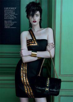 Editorial Glam Punk - Harper's Bazaar Brasil - Novembro 2013