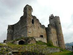 Castillo de Najac (Francia)
