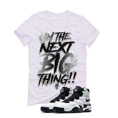 Nike Air Max 2 Uptempo 94 'White & Black' White T (BIG THING) Nike Air Max 2, White T, Matching Shirts, Street Wear, Big Thing, Mens Tops, T Shirt, Clothes, Fashion
